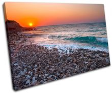 Pebble Beach Sunset Seascape - 13-2228(00B)-SG32-LO